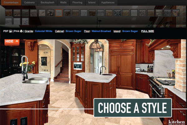 VIRTUAL KITCHEN DESIGN TOOL