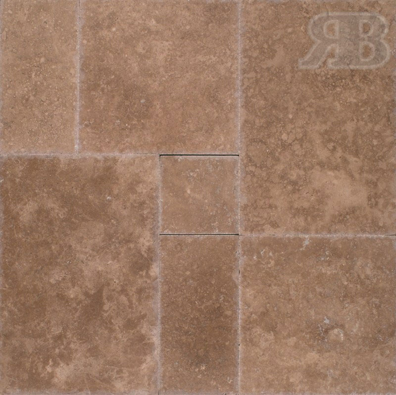 Noce-Brushed-Chiseled-Edge-Versailles-Pattern-Travertine