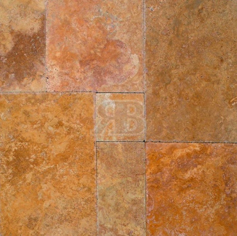 Golden-Sienna-Brushed-Chiseled-Edge-Versailles-Pattern-Travertine